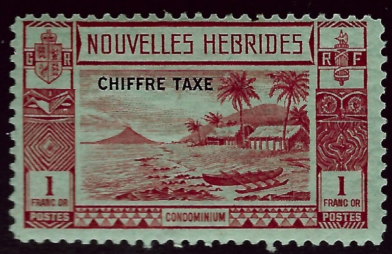 New Hebrides Attractive SC J10 Mint OG F-VF...Grab a Bargain!