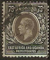 East Africa & Uganda 48 SG KUT 51 U AF CNR1912 SCV $21.00