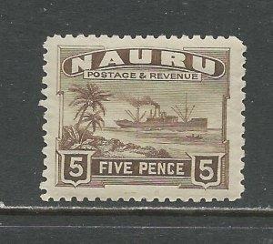 Nauru # 24 Unused HR