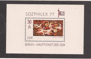 GERMANY - DDR SC# B185 VF MNH 1977