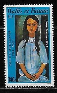 Wallis and Futuna Islands C135 Modigliani Painting single MNH