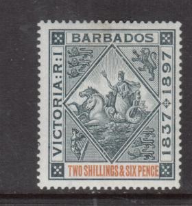 Barbados #89 Mint Fine - Very Fine Original Gum Hinged