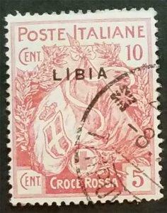 LIBYA 1915 Scott B1 USED Semi-Postal Stamp T443