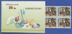 R797 -  SLOVAKIA 1997 3sk EASTER - Religion, Complete Booklet