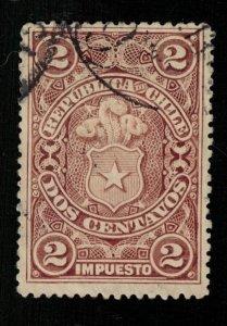 1900 Chile revenue tax stamp, 5 Centavos (ТS-531)