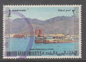 United Arab Emirates 22 Used VF