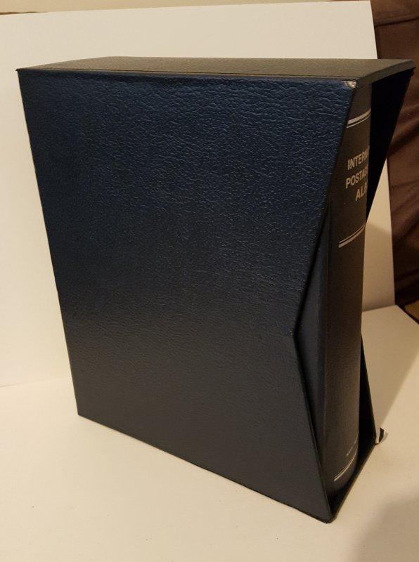 Scott International Album Large Binder & Slipcase, Excellent Shape