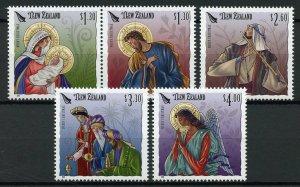 New Zealand NZ Christmas Stamps 2019 MNH Nativity Angels Baby Mary Jesus 5v Set