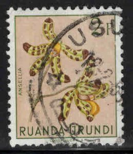 Ruanda-Urundi Scott 125 Used stamp