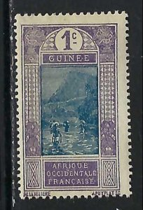 FRENCH GUINEA 63 MOG Z6-127-1