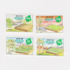 PABAY, British Local - 1993 - Year of the Tree - Perf MNH 4v Set