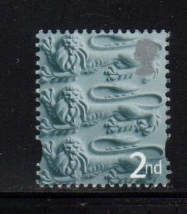 England - #1  Three Lions (No border) - MNH