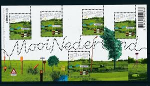 [16527] Netherlands 2005 Beautiful Holland MS Sheet Nederland MNH NVPH 2324