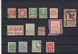 Switzerland Revenue Stamps ref 21888