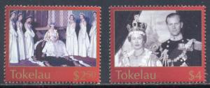 Tokelau Scott # 320 - 321 MNH