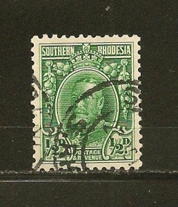 Southern Rhodesia 16 King George V Used