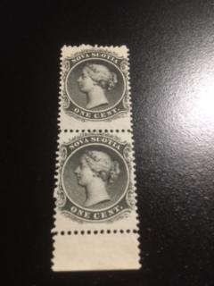 nova scotia sc 8 MNH pair
