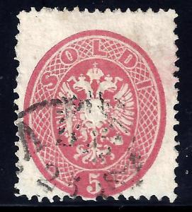 LOMBARDY-VENITIA 17 Used  FVF (0106)
