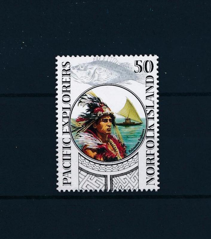 [49266] Norfolk Island 2005 Marine life Fish Indian boat from set MNH
