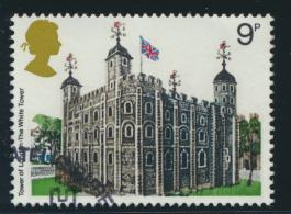 Great Britain  SG 1054 SC# 831 Used / FU with First Day Cancel - Architecture