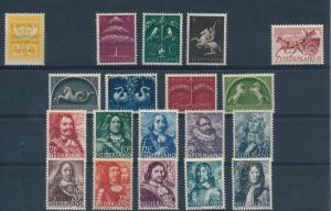 Netherlands Niederlande Pays Bas 1943 Year Set Annee Complete MNH
