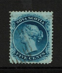 Nova Scotia SC# 10 Used / Sm Hinge Rem - S8322