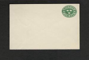 Sweden Unaddressed small envelope Fine