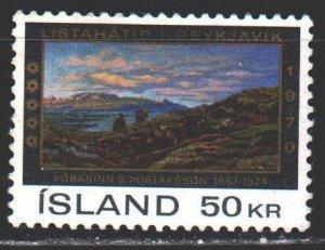 Iceland. 1970. 446. Painting, art festival in Reykjavik. MLH.