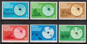 BRITISH ANTARCTIC 1982 Climate Change; Scott 86-91, SG 103-08; MNH