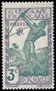 French Guiana 1940 #111 Mint H