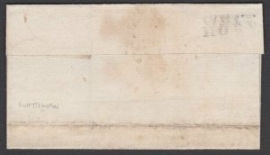 GB SCOTLAND 1794 Wrapper WHITHORN to Dumfries - scarce WHIT / HORN..........P666