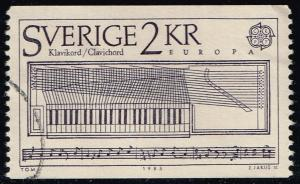 Sweden #1532 Clavichord; Used (0.50)