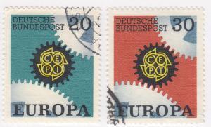 Germany,  Scott # 969-970, Used