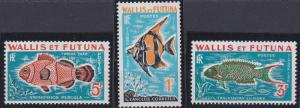 Wallis and Futuna J37-J39 MNH (1963)