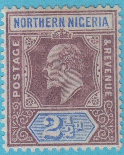 NORTHERN NIGERIA 13 MINT HINGED OG NO FAULTS EXTRA FINE