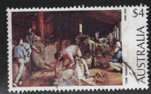 AUSTRALIA Scott 576 Used Art stamp