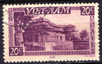 Vietnam South; 1951: Sc. # 2: O/Used Single Stamp