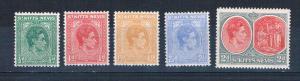 St Kitts-Nevis 79-83 MLH George VI 1938 (S0891)