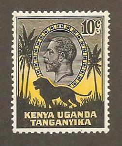 Kenya, Uganda, Tang  Scott #48  Mint H  Scott CV $6.00