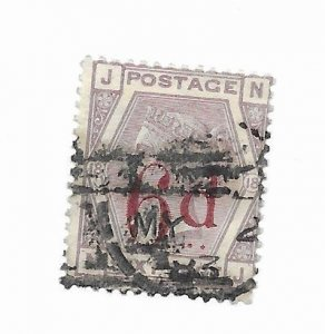Great Britain #95 F-VF Used Hinge Remnants - Stamp - CAT VALUE $150.00