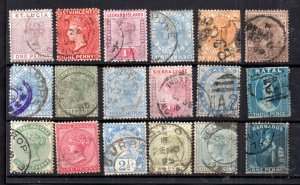 British Commonwealth QV used collection WS15010
