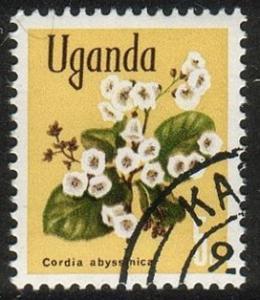 Uganda #115 - Cassia didymobotrya - Used (Ug-017)