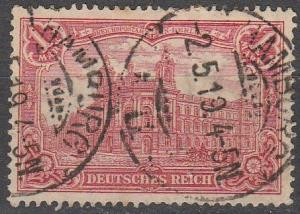 Germany #92 F-VF Used