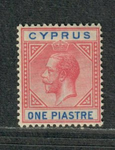 Cyprus Sc#76 M/H/VF, Wmk #4, Cv. $26