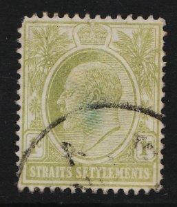 Straits Settlements 1903/1904 King Edward VII 1c (1/4) USED