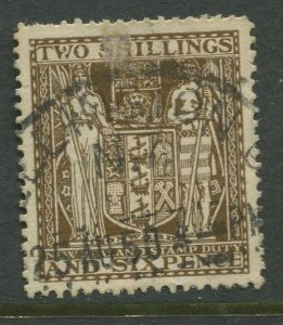 STAMP STATION PERTH New Zealand #AR76 Postal Fiscal Issue  Used 1940 CV$0.60