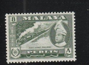 Perlis  Scott#  33  MH  (1957 East Coast Railway)