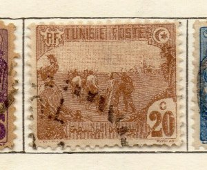 Tunis 1906 Early Issue Fine Used 20c. NW-114595