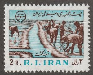 Persian stamp, Scott# 2075, mint never hinged, Irrigation #V-62