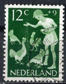 Netherlands; 1962: Sc. # B371: O/Used Single Stamp